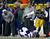 Wide receiver Greg Jennings #85 of the Green Bay Packers breaks a tackle by cornerback Chris Cook #20 of the Minnesota Vikings to run for 32-yards in the first half during the NFC Wild Card Playoff game at Lambeau Field on January 5, 2013 in Green Bay, Wisconsin.  (Photo by Jonathan Daniel/Getty Images)