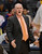 DENVER, CO. - JANUARY 20: Denver Nuggets head coach George Karl yells at the referee after a call was made during the second quarter January 20,  2013 at Pepsi Center.  TheDenver Nuggets take on the Oklahoma City Thunder in NBA action. (Photo By John Leyba / The Denver Post)