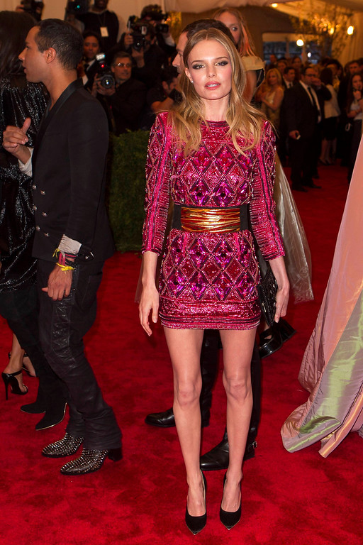 Description of . Actress Kate Bosworth arrives at the Metropolitan Museum of Art Costume Institute Benefit celebrating the opening of