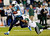 New York Jets strong safety Yeremiah Bell (37) brings down Tennessee Titans wide receiver Nate Washington (85) in the first quarter of an NFL football game, Monday, Dec. 17, 2012, in Nashville, Tenn. (AP Photo/Joe Howell)