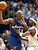 Cleveland Cavaliers' Ricky Davis, right, defends against Washington Wizards' Michael Jordan (23) during the fourth quarter of Washington's 100-91 win Tuesday, April 8, 2003, in Cleveland. Jordan scored 26 points and had 10 rebounds to lead the Wizards. (AP Photo/Mark Duncan)