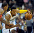 DENVER, CO - JANUARY 18: Denver guard Andre Iguodala (9) kept the ball from Washington defender Trevor Ariza (1) in the first half. The Denver Nuggets hosted the Washington Wizard at the Pepsi Center Friday night, January 18, 2013. Karl Gehring/The Denver Post