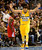 Denver Nuggets center JaVale McGee (34) celebrates a dunk against the Los Angeles Clippers during the second half of the Nugget's 89-74 win at the Pepsi Center on Tuesday, January 1, 2013. AAron Ontiveroz, The Denver Post