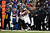 Denver Broncos wide receiver Eric Decker #87 makes a sideline catch at the M&T Bank Stadium, in Baltimore, MD Sunday December 16, 2012.      Joe Amon, The Denver Post