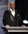 Host Steve Harvey speaks onstage at the 44th Annual NAACP Image Awards at the Shrine Auditorium in Los Angeles on Friday, Feb. 1, 2013. (Photo by Matt Sayles/Invision/AP)