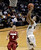 University of Colorado's Askia Booker goes for a layup after a fast break in front of Aaron Bright, No. 2, during a game against Stanford on Thursday, Jan. 24, at the Coors Event Center on the CU campus in Boulder. Jeremy Papasso/ Camera