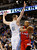 Los Angeles Clippers' Caron Butler (R) tries to get past Denver Nuggets' Kosta Koufos in their NBA basketball game in Denver March 7, 2013. REUTERS/Rick Wilking
