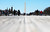 People walk on the National Mall in front of the Washington Monument as Washington prepares for U.S. President Barack Obama's second inauguration on January 20, 2013 in Washington, DC. One day before the public inaugural ceremony at the U.S. Captiol on January 21, Obama was officially sworn in for his second term during a private ceremony surrounded by friends and family in the Blue Room of the White House.  (Photo by Mario Tama/Getty Images)