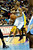 Denver Nuggets shooting guard Andre Iguodala (9) drives past Los Angeles Lakers shooting guard Kobe Bryant (24) during the first half at the Pepsi Center on Wednesday, December 26, 2012. AAron Ontiveroz, The Denver Post