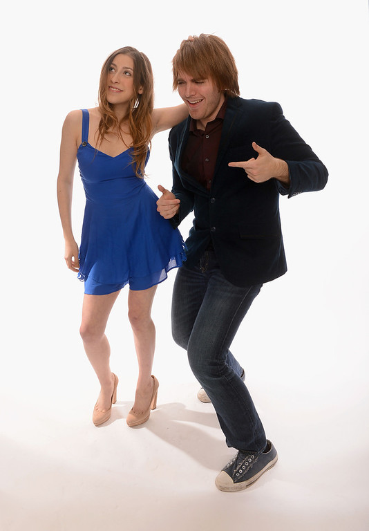 Description of . Internet personalities Eden Sher and Shane Dawson pose for a portrait in the TV Guide Portrait Studio at the 3rd Annual Streamy Awards at Hollywood Palladium on February 17, 2013 in Hollywood, California.  (Photo by Mark Davis/Getty Images for TV Guide)