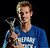 Tennis player Andy Murray of Great Britain poses with the award for Laureus World Breakthrough of the Year which was announced during the 2013 Laureus World Sports Awards at Theatro Municipal do Rio de Janeiro on March 11, 2013 in Rio de Janeiro, Brazil.  (Photo by Getty Images For Laureus)