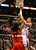 Blake Griffin of the Los Angeles Clippers shoots under pressure from Nene of the Washington Wizards (#42) during their NBA game in Los Angeles on January 19, 2013.  FREDERIC J. BROWN/AFP/Getty Images