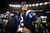 Tom Brady #12 of the New England Patriots reacts after being defeated by the Baltimore Ravens in the 2013 AFC Championship game at Gillette Stadium on January 20, 2013 in Foxboro, Massachusetts. The Baltimore Ravens defeated the New England Patriots 28-13.  (Photo by Elsa/Getty Images)