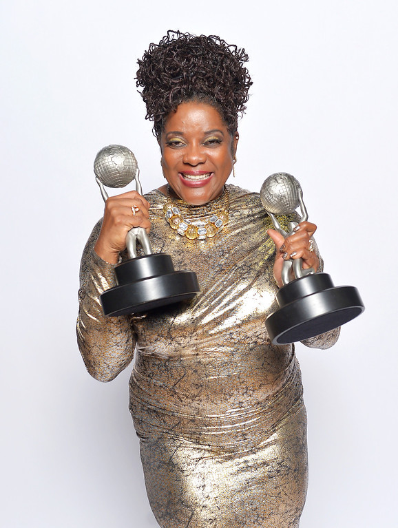 "Description of . LOS ANGELES, CA - FEBRUARY 01:  Actress Loretta Devine, winner of Outstanding Supporting Actress in a Drama Series for ""Grey\'s Anatomy\"", poses for a portrait during the 44th NAACP Image Awards at The Shrine Auditorium on February 1, 2013 in Los Angeles, California.  (Photo by Charley Gallay/Getty Images for NAACP Image Awards)"