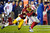 Washington Redskins defensive back Cedric Griffin (20) stops New York Giants wide receiver Hakeem Nicks (88) during the second half of an NFL football game in Landover, Md., Monday, Dec. 3, 2012. (AP Photo/Nick Wass)