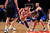 Jeremy Lin #17 of the New York Knicks drives against Jason Kidd #2 of the Dallas Mavericks at Madison Square Garden on February 19, 2012 in New York City. Jeremy Lin ranked as Google's seventh most searched trending person of 2012. (Photo by Chris Trotman/Getty Images)