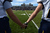 Rifle players hold hands before the start of the Class 3A Championship football game, Saturday December 01, 2012.  The Silver Creek Raptors beat  the Rifle Bears 32 - 15 at Legacy Stadium in Aurora, CO. Craig F. Walker, The Denver Post