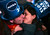 Simone Renes and Cristina Vanoli, of Italy, share a kiss in Times Square at the New Year's Eve celebration, Monday, Dec. 31, 2012, in New York. (AP Photo/John Minchillo)