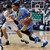 Southern University's Derick Beltran, right, drives past Gonzaga's Drew Barham in the first half during a second-round game in the NCAA college basketball tournament in Salt Lake City, Thursday, March 21, 2013. (AP Photo/George Frey)