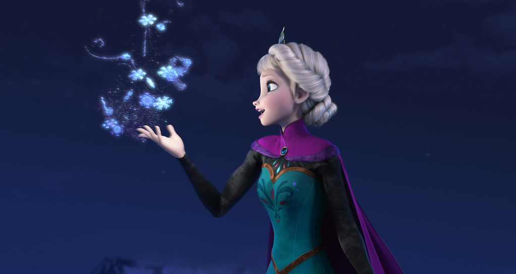 ". 2014 Academy Award Nominee for Best Animated Feature: ""Frozen.\"" (AP Photo/Disney)"