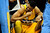 Denver Nuggets center JaVale McGee (34) rubs his jaw after taking contact against the Toronto Raptors during the first half at the Pepsi Center on Monday, December 3,sd 2012. AAron Ontiveroz, The Denver Post