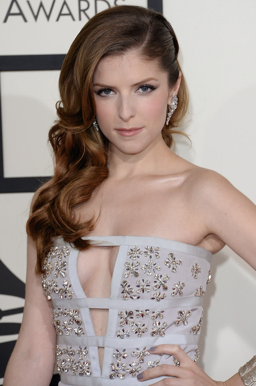 Description of . Actress-singer Anna Kendrick attends the 56th GRAMMY Awards at Staples Center on January 26, 2014 in Los Angeles, California.  (Photo by Jason Merritt/Getty Images)