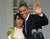 In this Nov. 19, 2012 file photo, U.S. President Barack Obama, right, waves as he embraces Myanmar democracy activist Aung San Suu Kyi after addressing members of the media at Suu Kyi's residence in Yangon, Myanmar. Obama became the first U.S. president to visit the Asian nation also known as Burma. (AP Photo/Pablo Martinez Monsivais, File)