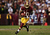 Robert Griffin III #10 of the Washington Redskins runs the ball against the Seattle Seahawks during the NFC Wild Card Playoff Game at FedExField on January 6, 2013 in Landover, Maryland.  (Photo by Win McNamee/Getty Images)