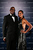 Laureus Academy Chairman Edwin Moses and wife Michelle Moses pose in the winners studio during the 2013 Laureus World Sports Awards at Theatro Municipal do Rio de Janeiro on March 11, 2013 in Rio de Janeiro, Brazil.  (Photo by Ian Walton/Getty Images For Laureus)