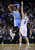 OAKLAND, CA - NOVEMBER 29: Andre Iguodala #9 of the Denver Nuggets looks to pass around Klay Thompson #11 of the Golden State Warriors at Oracle Arena on November 29, 2012 in Oakland, California.  (Photo by Ezra Shaw/Getty Images)