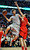 Houston Rockets' Chandler Parsons (25) looks to pass around Chicago Bulls' Joakim Noah (13) during the first quarter of an NBA basketball game in Chicago, Tuesday, Dec. 25, 2012. (AP Photo/Paul Beaty)