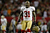 Donte Whitner #31 of the San Francisco 49ers reacts after stopping the Atlanta Falcons on fourth down in the fourth quarter in the NFC Championship game at the Georgia Dome on January 20, 2013 in Atlanta, Georgia.  (Photo by Chris Graythen/Getty Images)