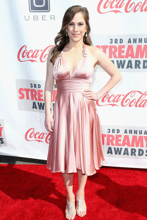 Description of . Producer Ana Kasparian attends the 3rd Annual Streamy Awards at Hollywood Palladium on February 17, 2013 in Hollywood, California.  (Photo by Frederick M. Brown/Getty Images)