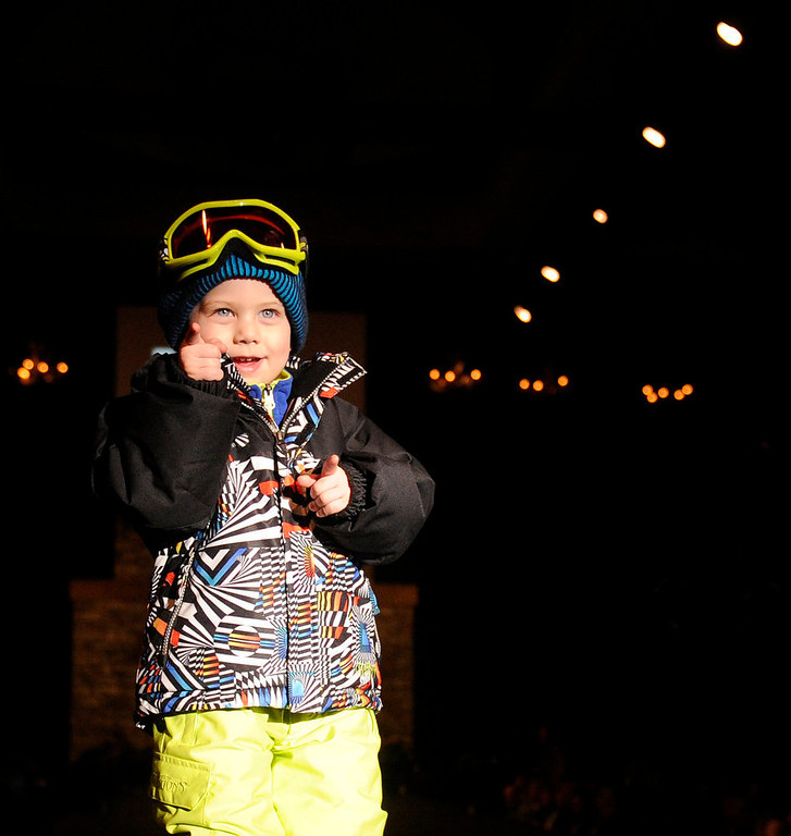 Description of . Snow Dragons and Bolle' goggles, as the SIA Snow Show hosted its 2013 Snow Fashion & Trends Show at the Colorado Convention Center  in downtown Denver  on Wednesday, January 30, 2013.  (Photo By Cyrus McCrimmon / The Denver Post)