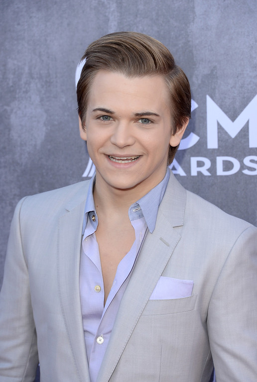 Description of . Singer Hunter Hayes attends the 49th Annual Academy Of Country Music Awards at the MGM Grand Garden Arena on April 6, 2014 in Las Vegas, Nevada.  (Photo by Jason Merritt/Getty Images)