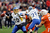 Quarterback David Fales #10 of the San Jose State Spartans throws a pass against the Bowling Green Falcons during the first half of the Military Bowl at RFK Stadium on December 27, 2012 in Washington, DC.  (Photo by Rob Carr/Getty Images)