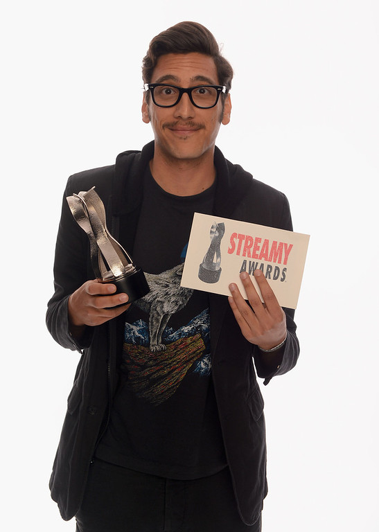 Description of . Comedian Kassem G poses for a portrait in the TV Guide Portrait Studio at the 3rd Annual Streamy Awards at Hollywood Palladium on February 17, 2013 in Hollywood, California.  (Photo by Mark Davis/Getty Images for TV Guide)