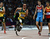 South Africa's Oscar Pistorius runs the final leg for South Africa for the Men's 4x400m Relay at the Olympic Stadium for the London 2012 Olympics in London, England on Friday, Aug. 10, 2012.  (Nhat V. Meyer/Mercury News)