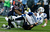 Andrew Luck #12 of the Indianapolis Colts is sacked by J.J. Watt #99 and Bradie James #53 of the Houston Texans in the first half of the game at Reliant Stadium on December 16, 2012 in Houston, Texas.  (Photo by Scott Halleran/Getty Images)