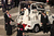 Pope Benedict XVI disembarks the Popemobile in St Peter's Square on February 27, 2013 in Vatican City, Vatican.  The Pontiff has attended his last weekly public audience before stepping down tomorrow. Pope Benedict XVI has been the leader of the Catholic Church for eight years and is the first Pope to retire since 1415. He cites ailing health as his reason for retirement and will spend the rest of his life in solitude away from public engagements.  (Photo by Oli Scarff/Getty Images)