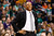 BOSTON, MA - FEBRUARY 10: Head coach Doc Rivers of the Boston Celtics smiles as he watches his team play against the Denver Nuggets during the game on February 10, 2013 at TD Garden in Boston, Massachusetts.  (Photo by Jared Wickerham/Getty Images)