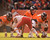 Denver Broncos quarterback Peyton Manning (18) calls a play at the line as the Denver Broncos took on the Kansas City Chiefs at Sports Authority Field at Mile High in Denver, Colorado on December 30, 2012. John Leyba, The Denver Post
