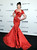 Model Crystal Renn attends amfAR's New York gala at Cipriani Wall Street on Wednesday, Feb. 6, 2013 in New York. (Photo by Evan Agostini/Invision/AP)