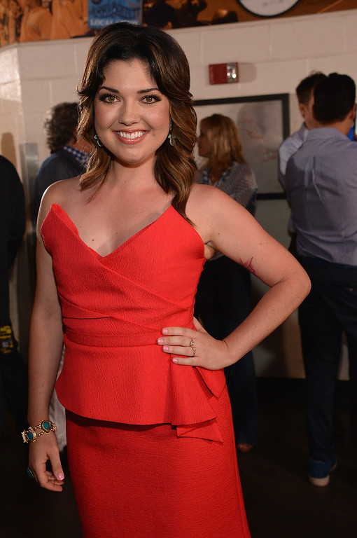 Description of . Samantha Stephens attends the 2014 CMT Music Awards at Bridgestone Arena on June 4, 2014 in Nashville, Tennessee.  (Photo by Rick Diamond/Getty Images for CMT)