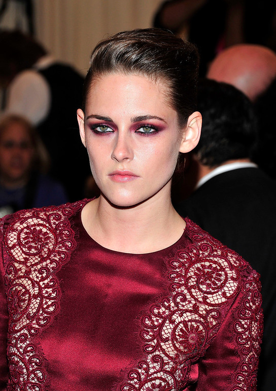 Description of . Kristen Stewart attends The Metropolitan Museum of Art's Costume Institute benefit celebrating