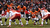 Denver Broncos quarterback Peyton Manning (18) runs the offense during the third quarter. The Denver Broncos vs Kansas City Chiefs at Sports Authority Field Sunday December 30, 2012. Joe Amon, The Denver Post
