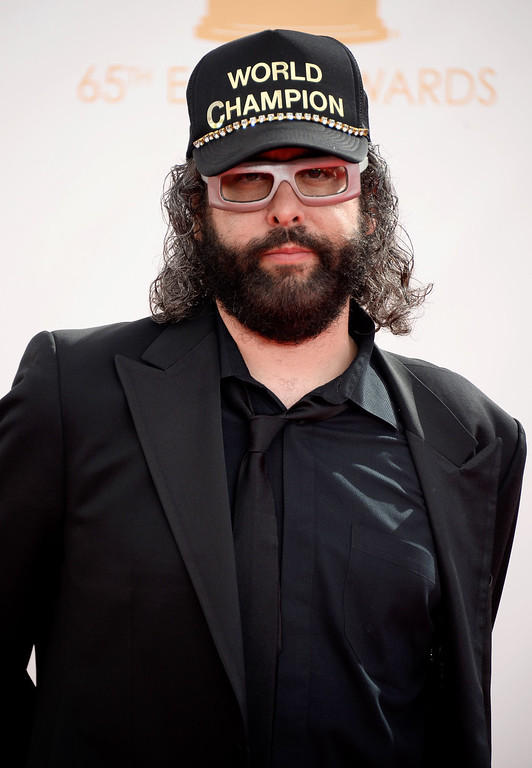 Description of . Actor Judah Friedlander  arrives at the 65th Annual Primetime Emmy Awards held at Nokia Theatre L.A. Live on September 22, 2013 in Los Angeles, California.  (Photo by Frazer Harrison/Getty Images)