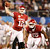 University of Oklahoma quarterback Landry Jones (L) passes as running back Damien Williams looks to block against Texas A&M University during the first half of the Cotton Bowl Classic NCAA football game at Cowboys Stadium in Arlington, Texas January 4, 2013. REUTERS/Mike Stone