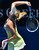 Russia's Maria Sharapova serves during her women's singles semi-final match against China's Li Na on the eleventh day of the Australian Open tennis tournament in Melbourne on January 24, 2013.   PAUL CROCK/AFP/Getty Images