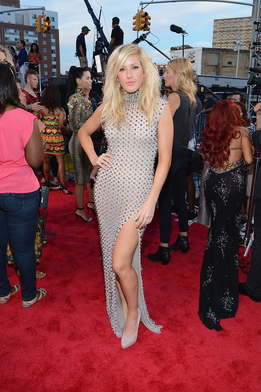 Description of . Ellie Goulding attends the 2013 MTV Video Music Awards at the Barclays Center on August 25, 2013 in the Brooklyn borough of New York City.  (Photo by Larry Busacca/Getty Images for MTV)
